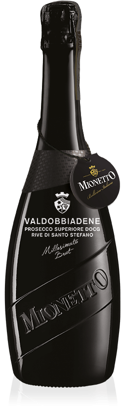 LUXURY Collection: Valdobbiadene Prosecco Superiore DOCG Rive di Santo Stefano Millesimato Brut